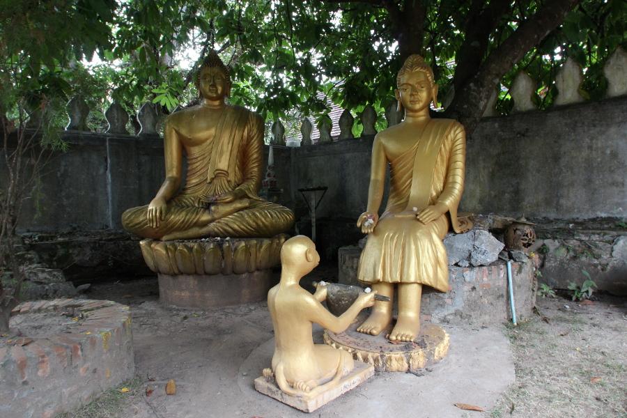 LaosThai1330_Laos_LuangPrabang_watChoumKhongSourintharame