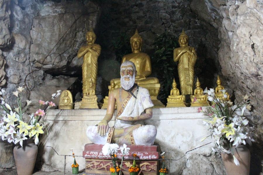 LaosThai1445_Laos_LuangPrabang_ThatChomsiStupa
